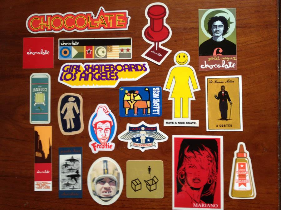 Girl_Chocolate_Stickers
