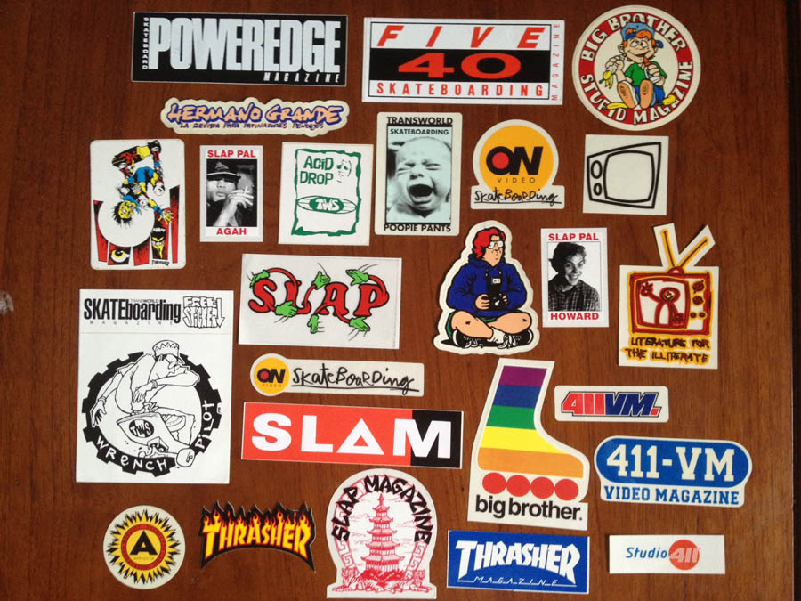 Skateboard-Sticker-Collection-9-Thrasher-Bigbrother-SLAP