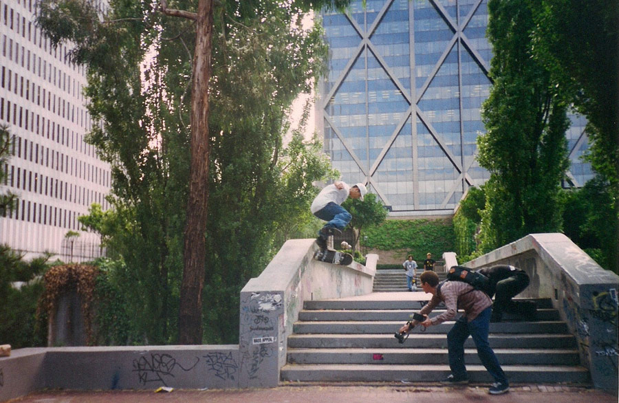 People have no idea how close Toan got to this kickflip back tailslide down Hubba Hideout. Imagine if that had been his ender.