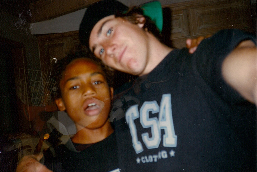 Smolik and Lil' B – homies from day one.