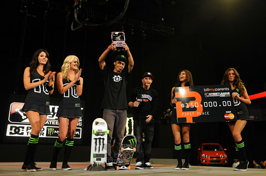 2012 / photo courtesy of street league skateboarding