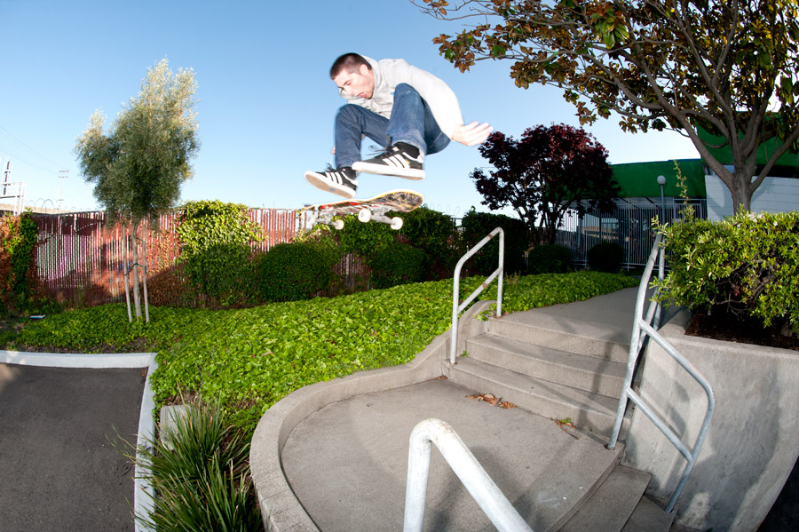 proper frontside flip / photo: gabe morford