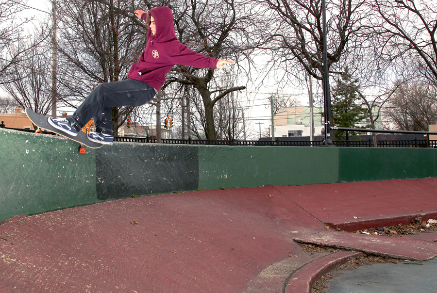 jason may or may not have wiped before this feeble / photo: culley