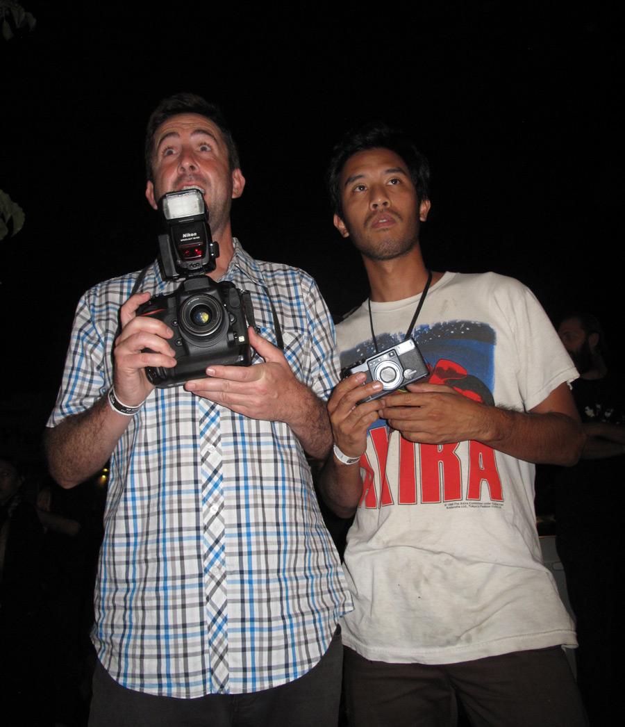 Photo staff, Burn Dog and Who's Hsu.