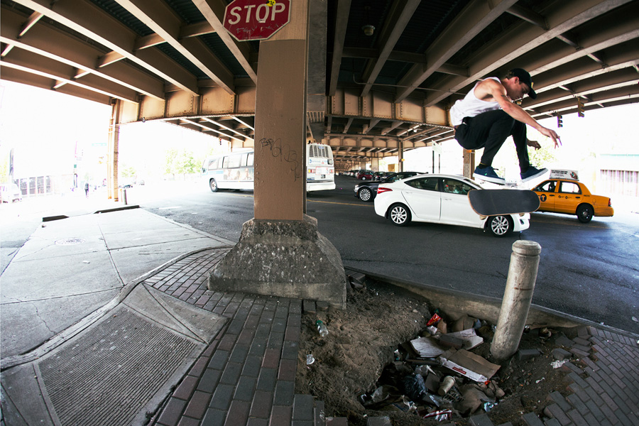 kickflip in brooklyn / photo: brian kelley