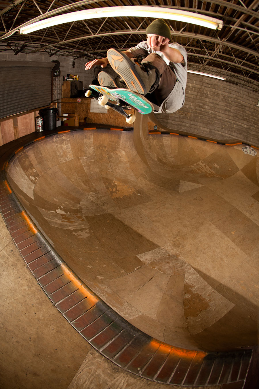 massive frontside flip / photo: luke darigan