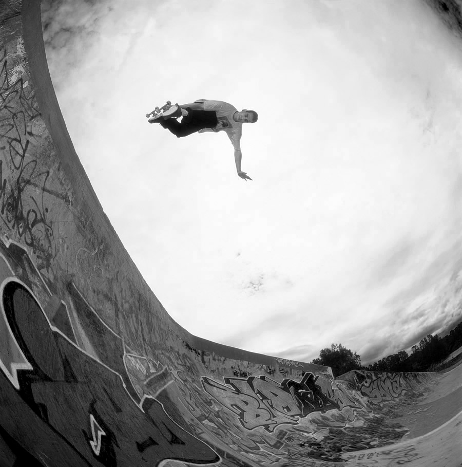 John Cardiel Antihero Tent City Grab Air