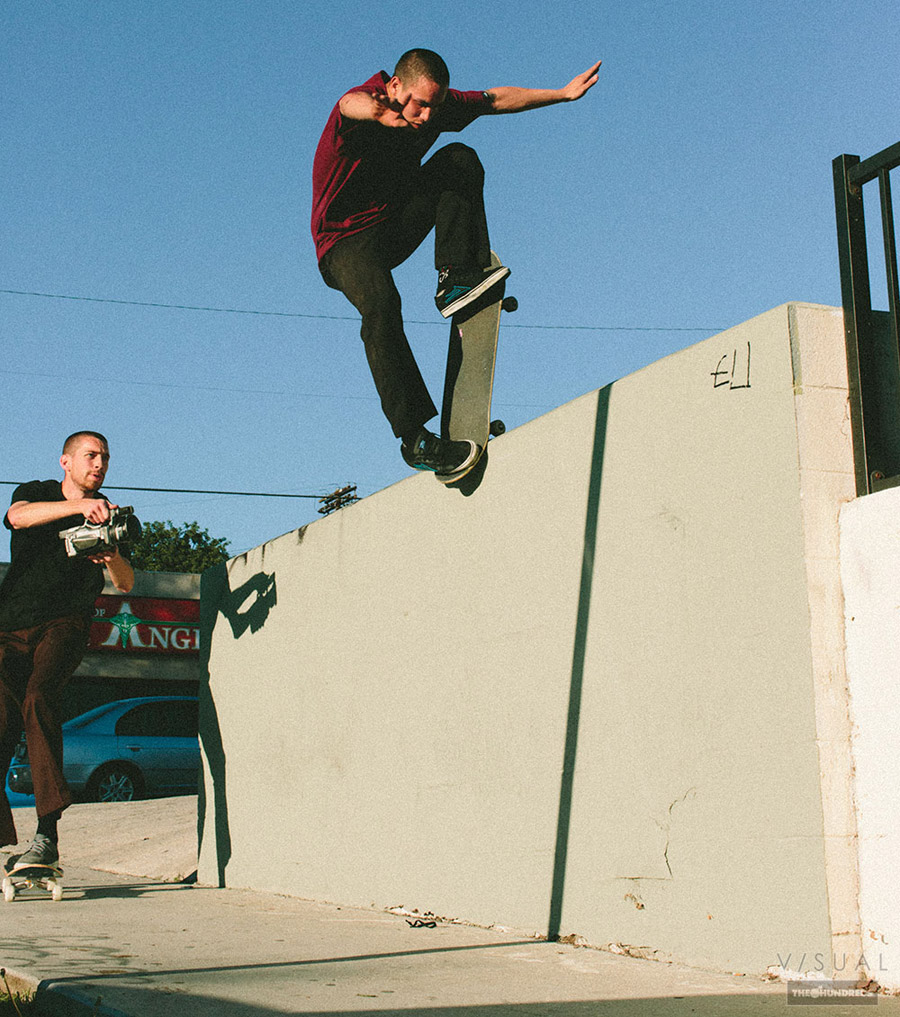 jon sciano - nose blunt transfer / photo: van styles