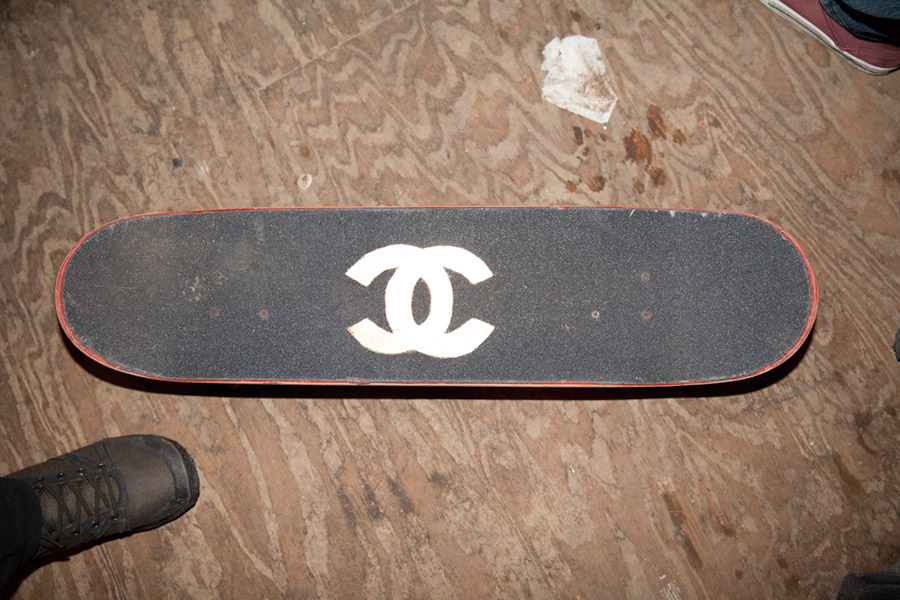 Chanel griptape coming soon