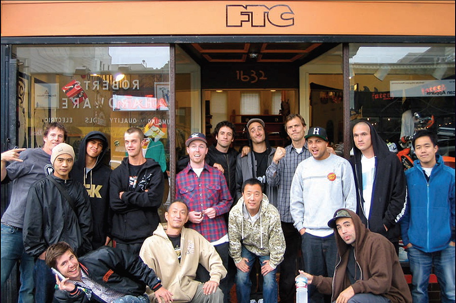 FTC skateshop / photo courtesy of Seb Carayol