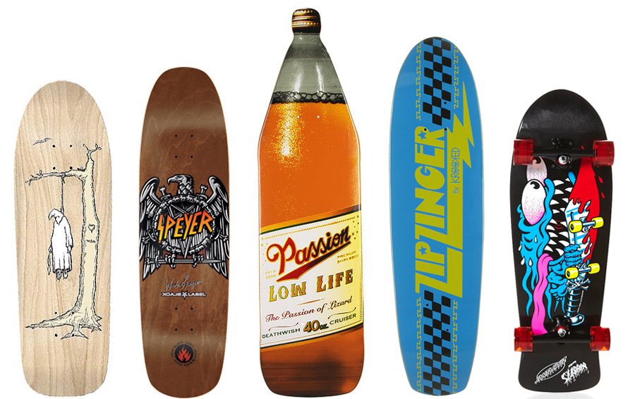 Permalink to Funny Skateboard Decks