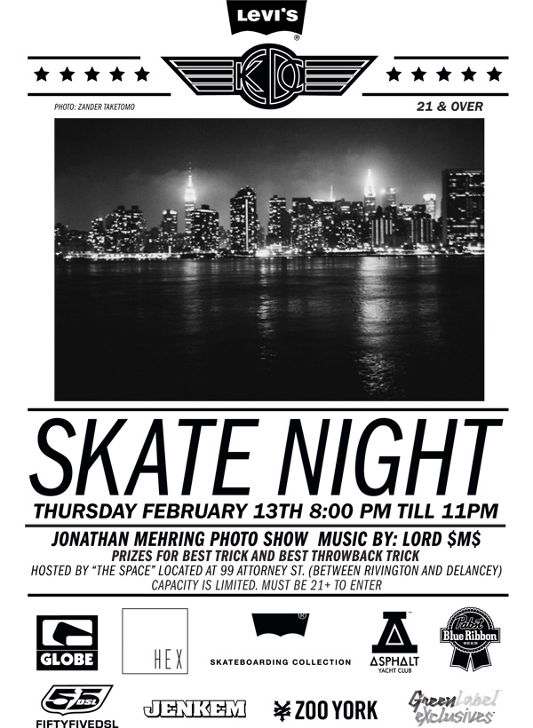 Stop by tomorrow for the final skate night.