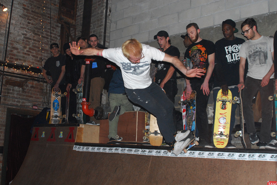 i don't know this guy's name but here's at every skatenight and he shreds harder than anyone.