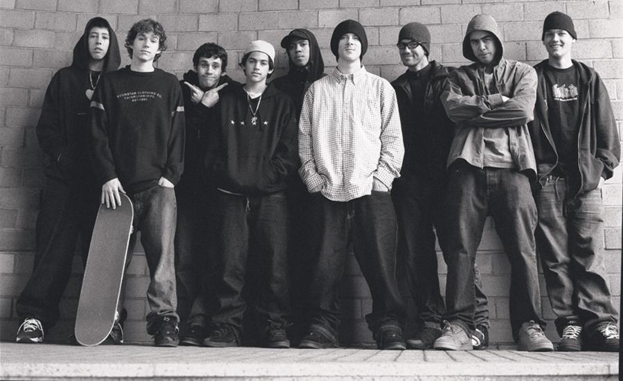 éS Team 2002 - Courtesy of éS Shoes