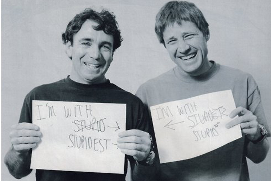 steve rocco (left) and rodney mullen (right)
