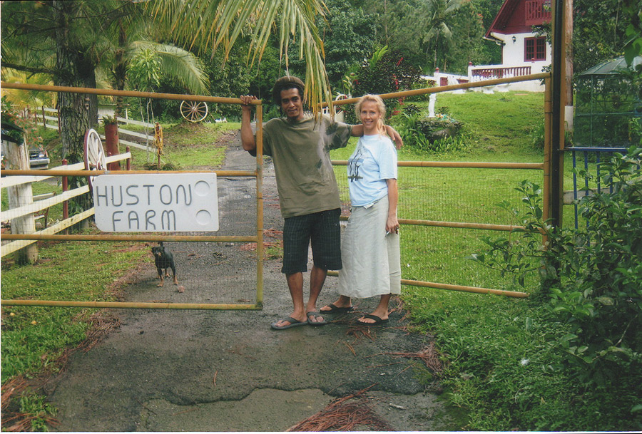 the isolated huston farm in puerto rico