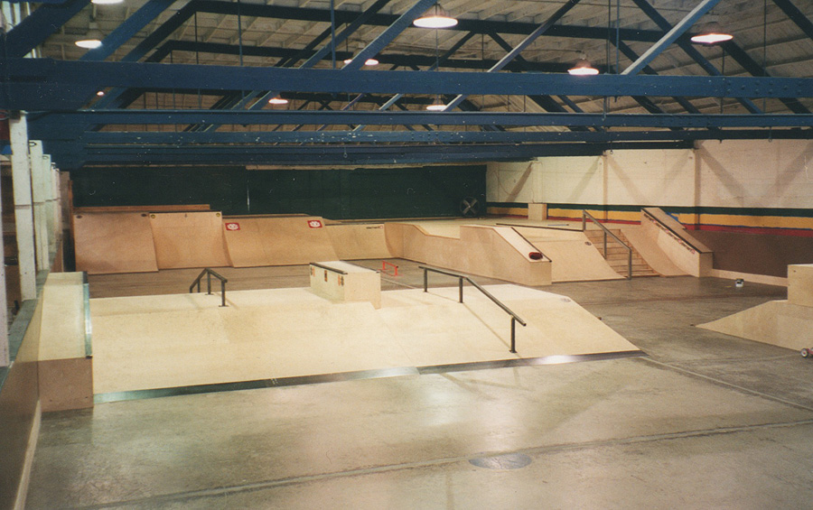 the houston's skatepark / photo: kelle houston