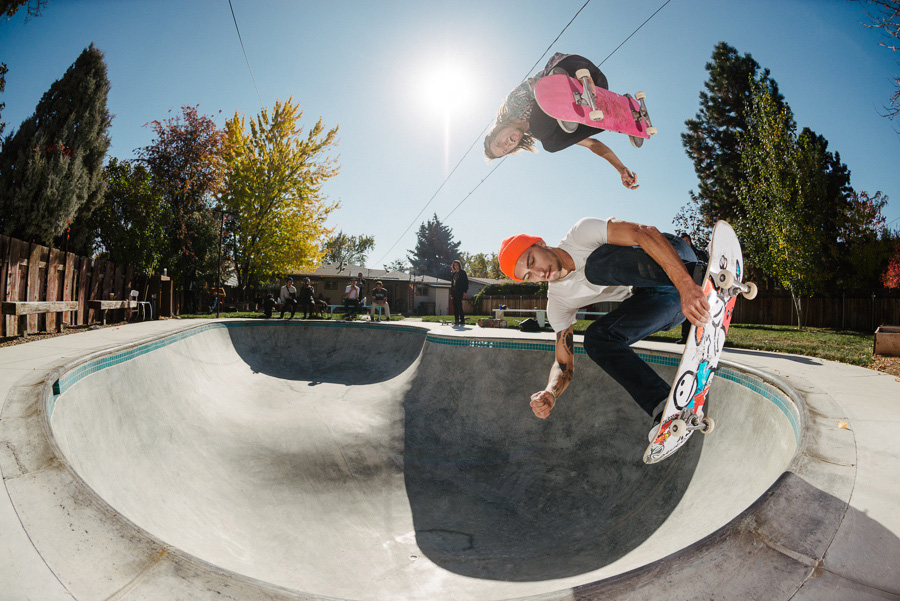 Jaws and Dakota Servold Doubles / photo: mehring