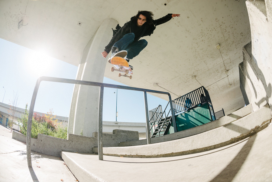 Taylor Smith - Kickflip Back Lip / photo: mehring