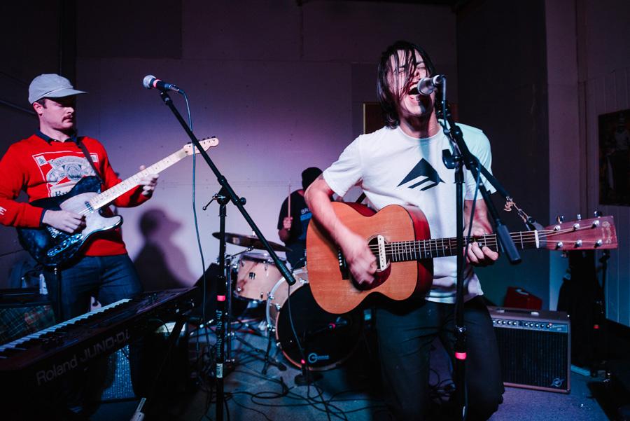 Leo Romeo's band, Travesura / photo: mehring