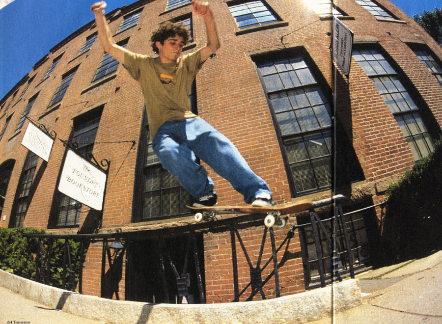 Me, age 19 - backside smith in Thrasher