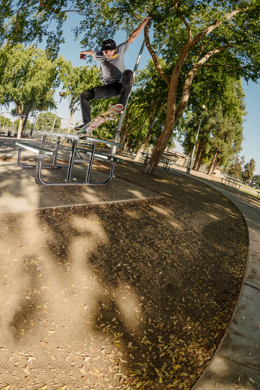 Leo Romero 50-50 gap out / photo: mehring