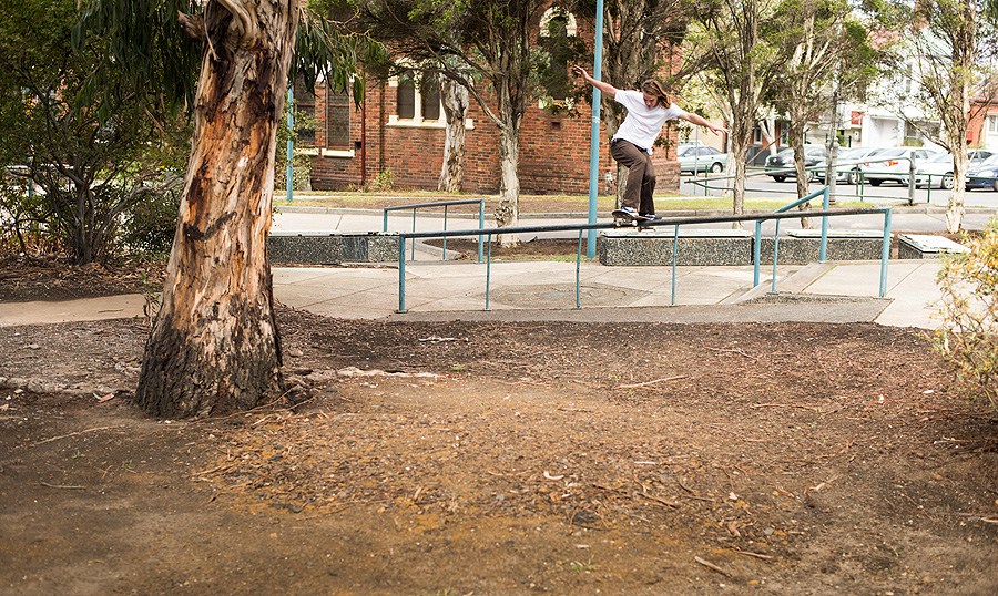frontside boardslide / photo: bryce golder