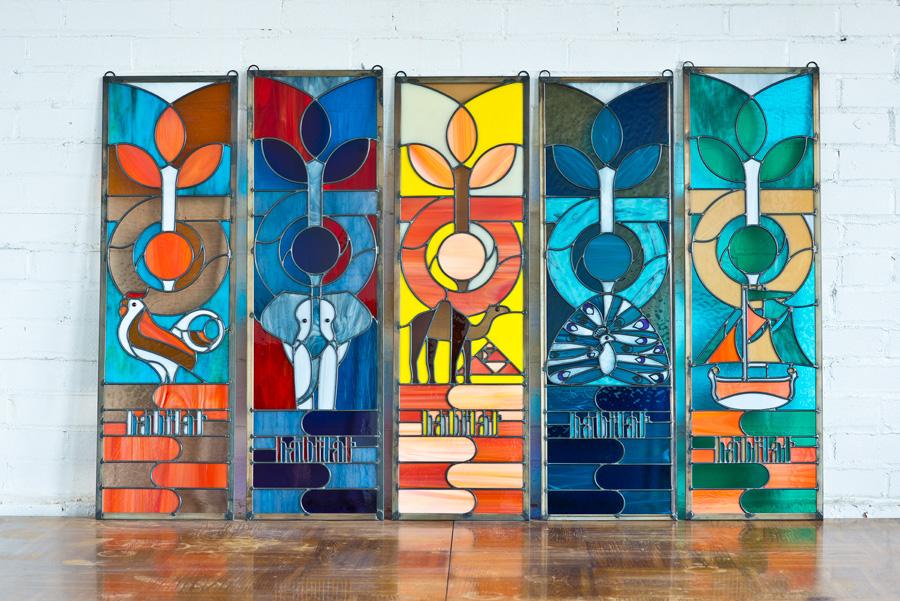habitat stained glass / photo courtesy of habitat