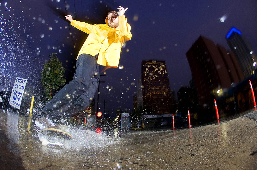 kyle leaper rain slide / photo: sam mcguire