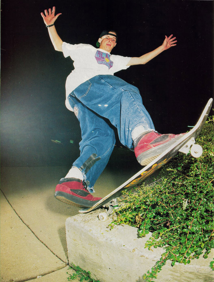 young rob dyrdek / photo: swift / courtesy of the chome ball incident