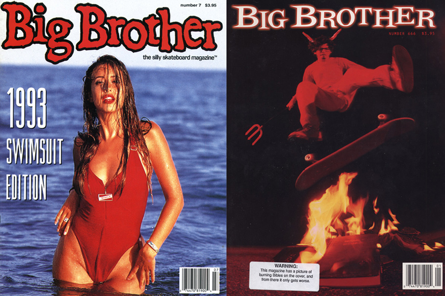 early big brother magazine covers