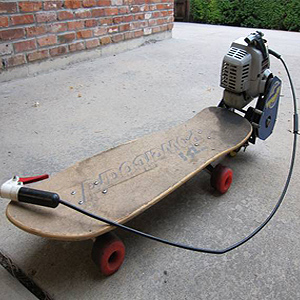 SkateboardLawnmower