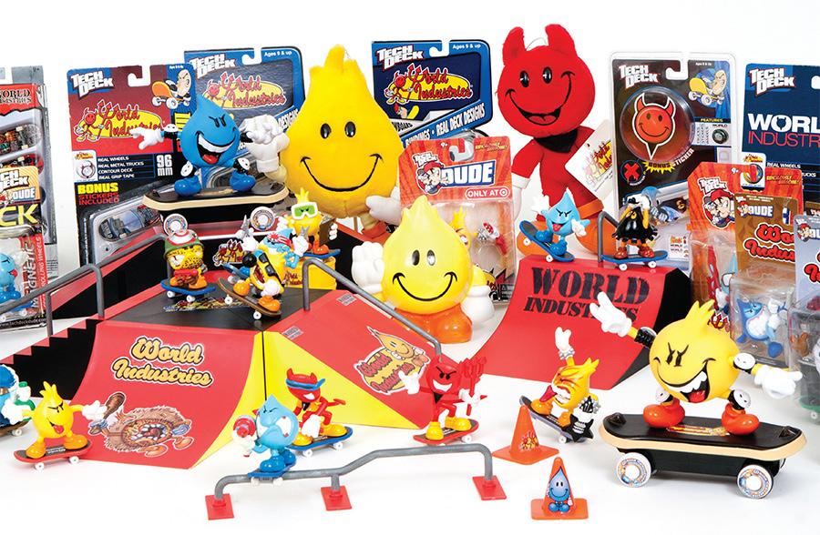 world industries licensed toys / photo courtesy of winston tseng