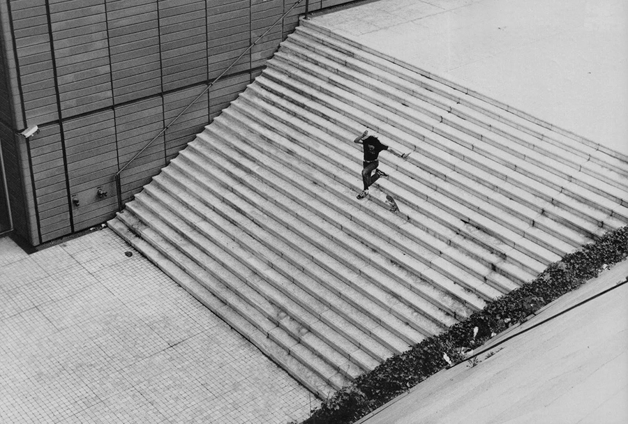 photo: ali boulala's infamous 25 stair / olivier chassignole (2002)