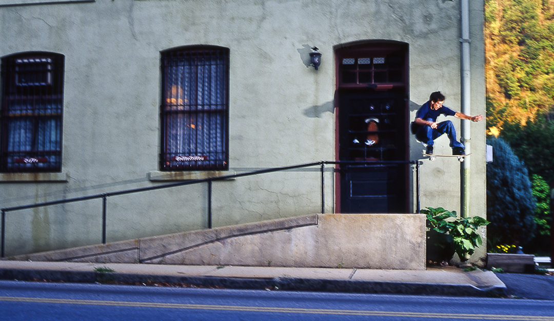 photo: Jonathan Mehring / originally appearing in Skateboarder mag.