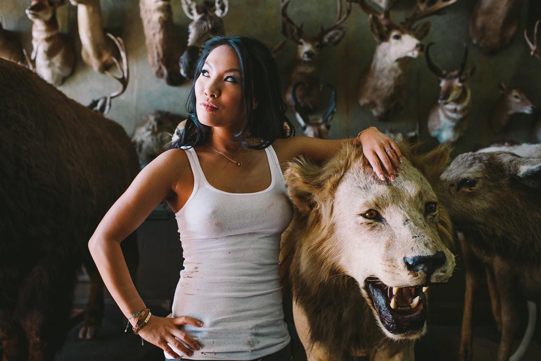 Asa Akira, author, lion tamer, anal queen.