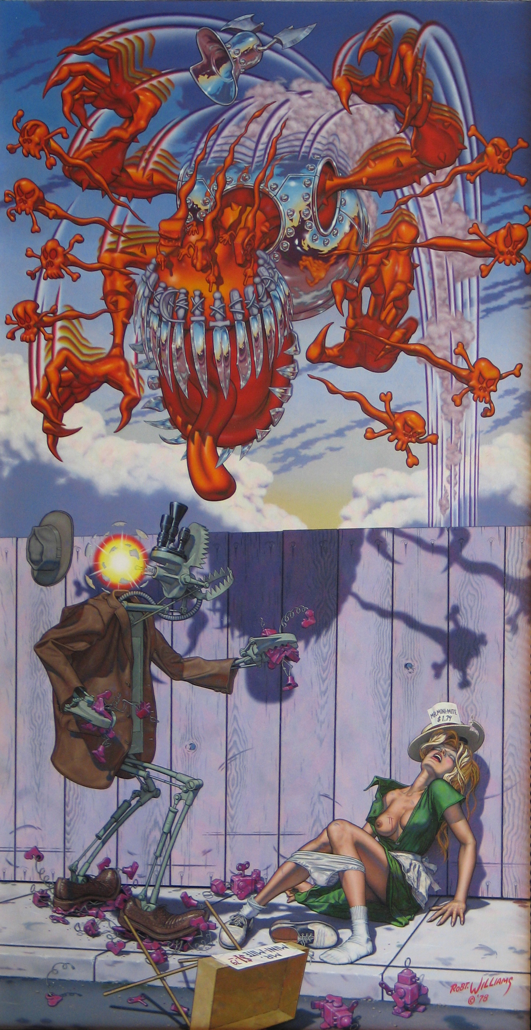 "Robert Williams. ""Appetite for Destruction"" (1979)"