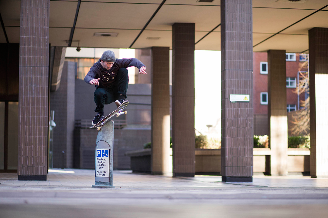 Wavey Mike with the wallie grinder