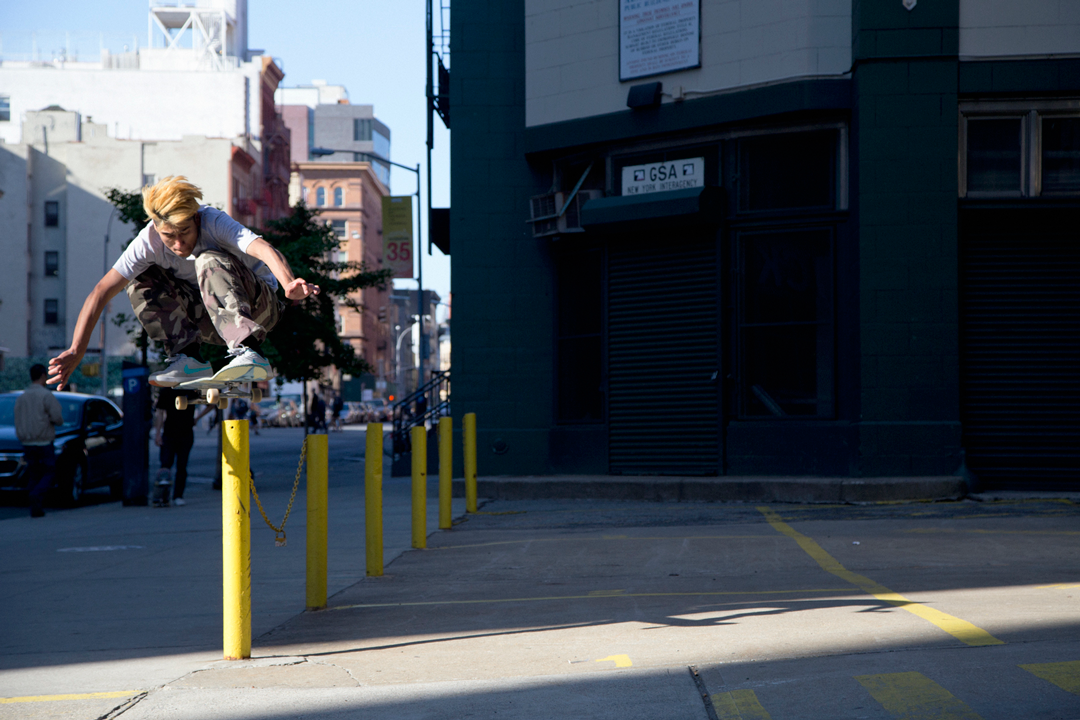 Chachi can ollie over anything... from flat!