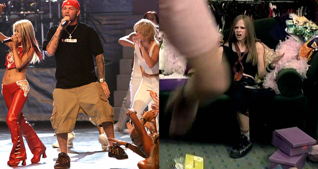 Fred Durst & Avril Lavigne in the D3