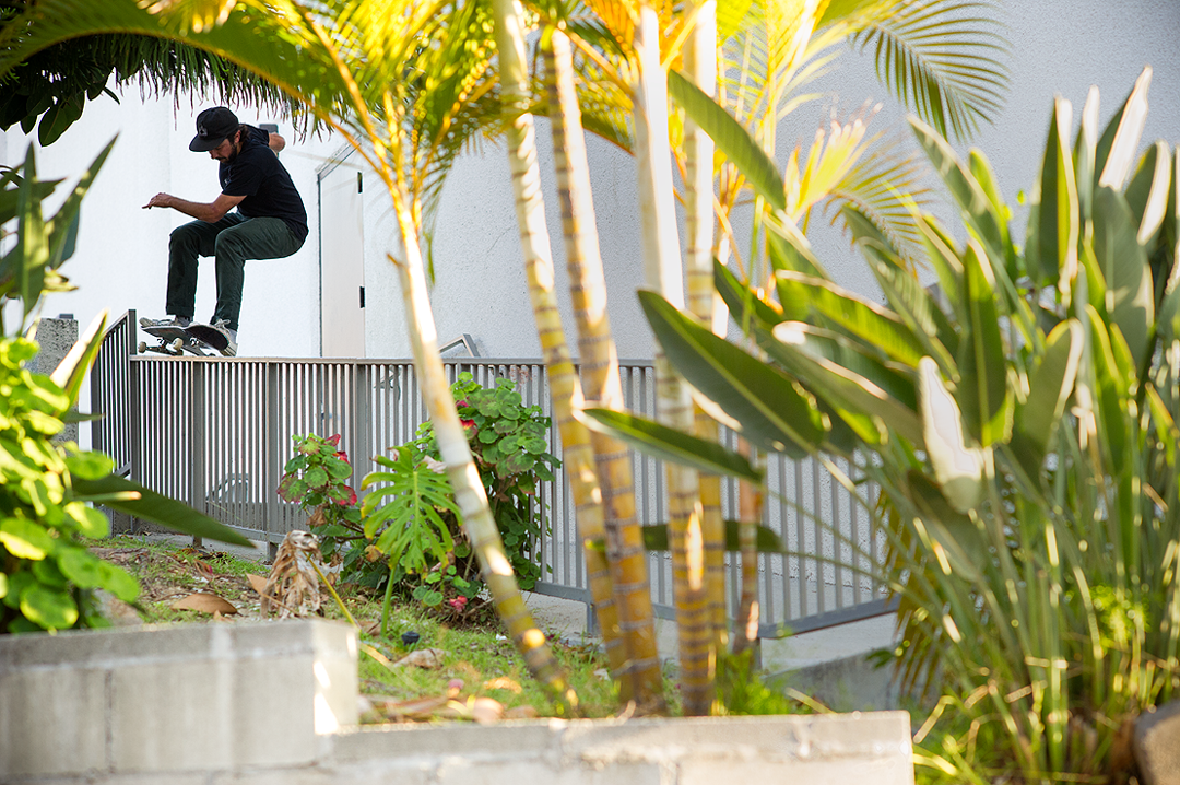 Grant not doing a boardslide... photo: O'Donnell