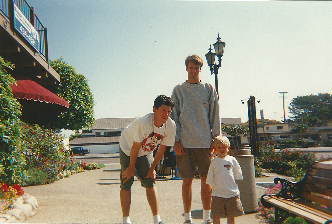 sean mortimer, tony hawk, & riley hawk