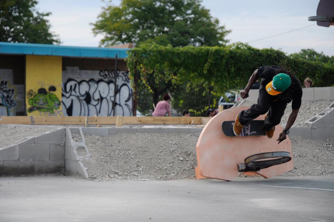 ron allen - hoop ride / photo: hutchings