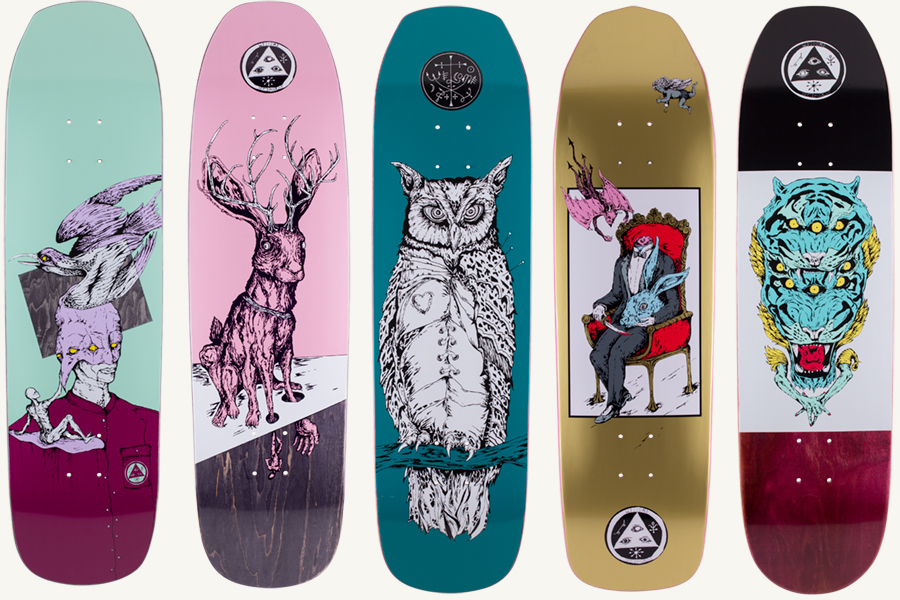 welcome skates | classicskateshop |Welcome Skateboards Bird Graphics
