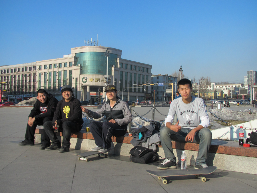 skaters in anshan, liaoning, china / photo: ck