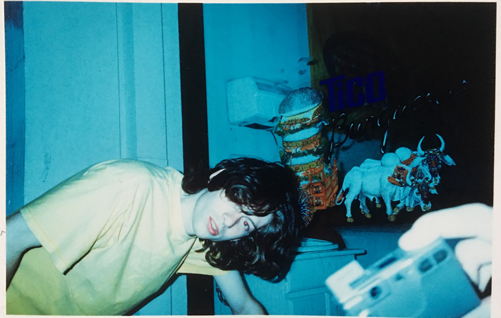 joe puking somewhere in costa rica circa 2001