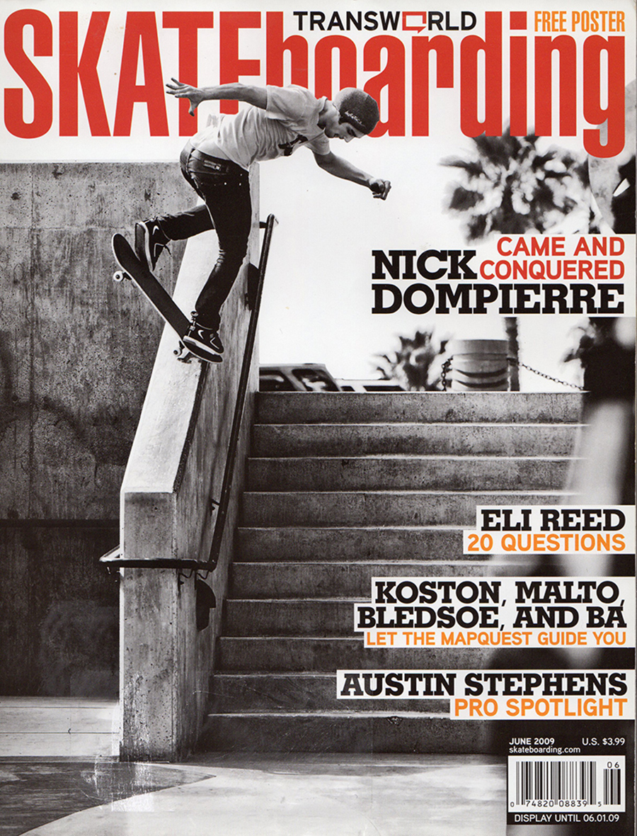 nick dompierre - published but never fully landed / photo: blabac