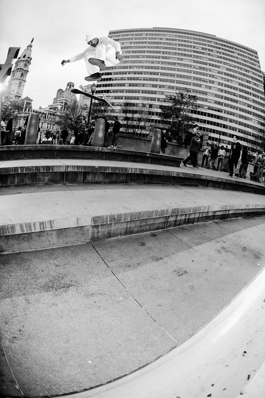 tyshawn jones varial flip at love / photo: jonathan mehring