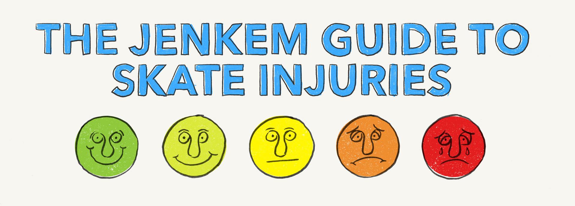 THE JENKEM GUIDE TO SKATE INJURIES - Jenkem Magazine