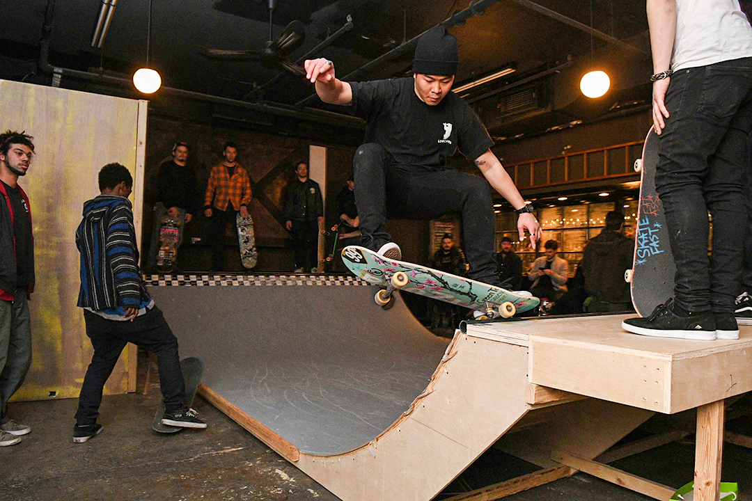 Inside The Bowling Skate Party With Kcdc Amp Huf Jenkem